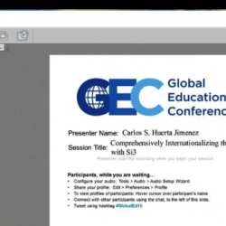 USMEXFUSION Presentation on Si3 System at the virtual conference GEC15 - Nov 16, 2015
