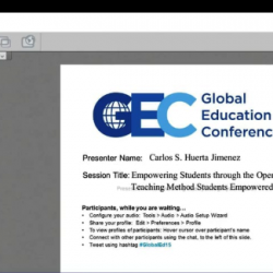 USMEXFUSION Presentation on STEMP Teaching Method at the virtual conference GEC15 - Nov 17, 2015